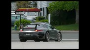 Porsche 997 Twin Turbo With Techart & Tubi Race Exhaust
