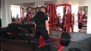 1RM тест - сумо тяга 220х1