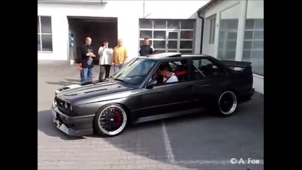 M3 E30 V10 sound + wheelspin
