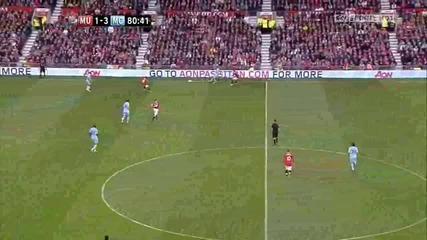 Манчестър Юнайтед 1 - 6 Манчестър Сити Флетчър Супер Гол *hq*