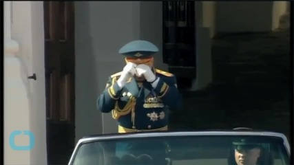 Russia Stages Huge Military Parade, Western Leaders Boycott