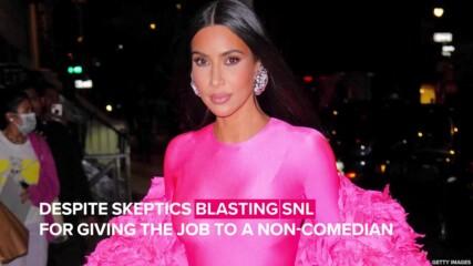 Какво казаха критиците за участието на Ким Кардашиян в SNL?