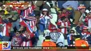 20.06.2010 Словакия - Парагвай 0:2 Гол на Кристиян Риверос - Мондиал 2010 Юар