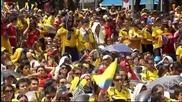 Колумбийските фенове в екстаз