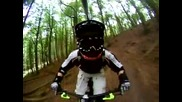 Go Pro Hero 5 Wide 360 Test 1 Downhill