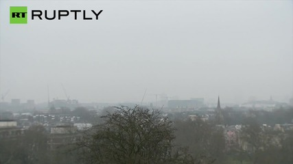 UK: Toxic smog RUINS solar eclipse for millions of Londoners