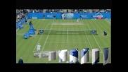 Анди Родик триумфира в Ийстборн