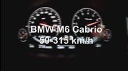 Bmw M6 Cabrio Kickdown Flatout 50 - 315 kmh