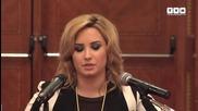 """"""" Сега съм боец """" - Demi Lovato"""