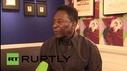 England: Football legend Pele-themed art exhibition opens in London