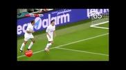 Фернандо Алонсо изпълнява по страхотен начин дузпа