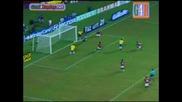 10.09.09 Brazil - Chile 4 - 2 Nilmar Hat - Trick