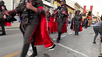 Spain: Carnival group parades with Holocaust theme in Campo de Criptana