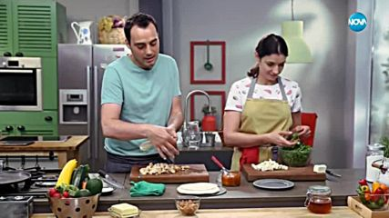 Пилешка кесадия с мармалад и кайсии - Бон Апети (14.05.2018)