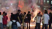 Brazil: Sao Paulo burns as police water-cannon shuts down anti-Temer demo