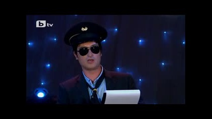 Капитана на Комиците Валери Илиев!смях