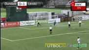 Дъндолк - Левски 0 - 2 Hd