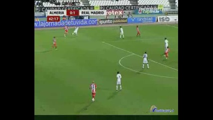 Highlights: Almeria - Real Madrid