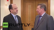 Russia: Lavrov and Ivanov pay respects to Ankara attack victims at Turkish embassy