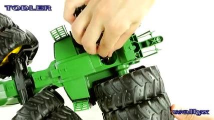 Bruder 03052 Traktor John Deere z podw