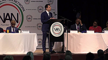 USA: Democratic candidates bid for supporters at Sharpton's National Action Network event