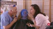 Смешна Скрита Камера - Smurf Tan Prank - Throwback Thursday (720p)