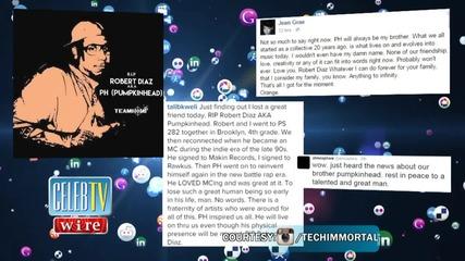 Rap Community Reacts to Pumpkinhead's Death