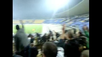 Левски 1 - 2 Локо Пловдив (край на мача2)