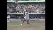 Pat Cash vs Stefan Edberg. Australian Open 1987 Final