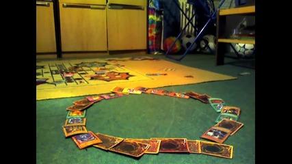 Събаияне на кръг от карти