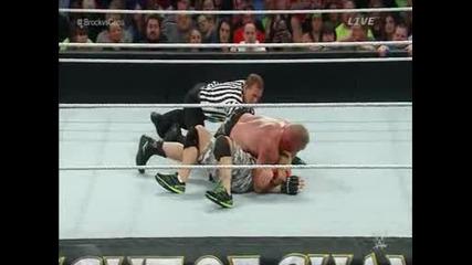 Wwe Нощта На Шампионите 2014 - Джон Сина срещу Брок Леснар / Титлата в тежка категория [ Част 1/2 ]
