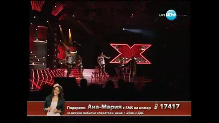 X Factor Ана - Мария Янакиева Live концерт - 28.11.2013 г