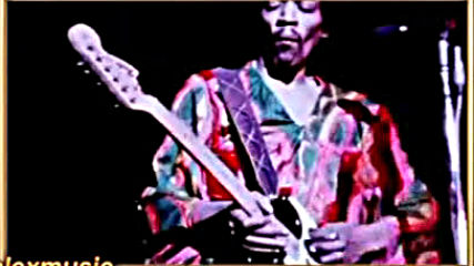 Jimi Hendrix - Purple Haze, Live at the Atlanta Pop Festival, 1970