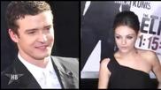 Justin Timberlake & Mila Kunis - Голи в Friends, обещетения
