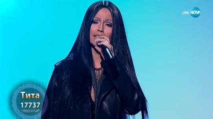 Тита като Eros Ramazzotti & Cher - ''Piu Che Puoi'' | Като две капки вода
