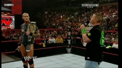 Wwe Raw John Cena Яко