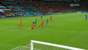 Голът на Ярмоленко срещу Нидерландия