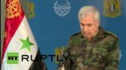 Syria: Russian airstrikes have weakened ISIS - General Ali Ayoub