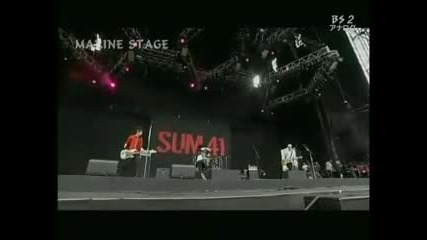 Sum 41 The Hell Song Live at Summer Sonic 2010 - Japan