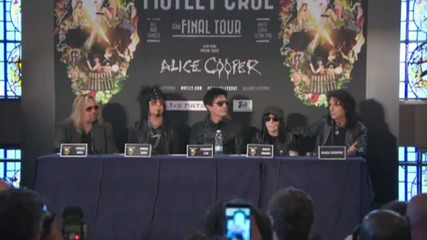 Alice Cooper and Motley Crue Team Up For 'Final Tour'