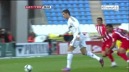 15.04 Almeria 1:1 Real Madrid Cristiano Ronaldo goal !