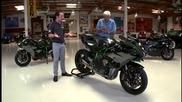 2015 Kawasaki Ninja H2 and H2r - Jay Leno_s Garage