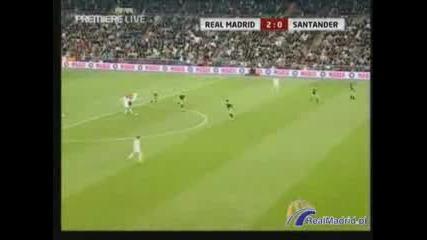 Real Madrid 3 - 1 Racing Santander 01.12.07