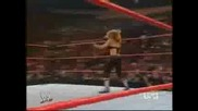 Wwe Trish Vs Mickie - Последния Й Мач В Raw