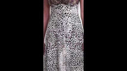 bote - Къса рокля Валенсия