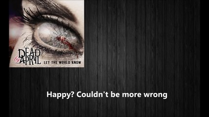 Dead by April - Beautiful Nightmare (lyrics)