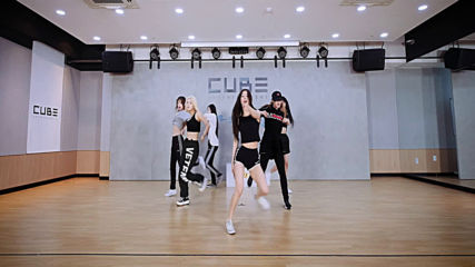 Gidle - Uh Oh Choreography Practice Video