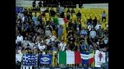 Феновете на Лацио подкрепят Левски