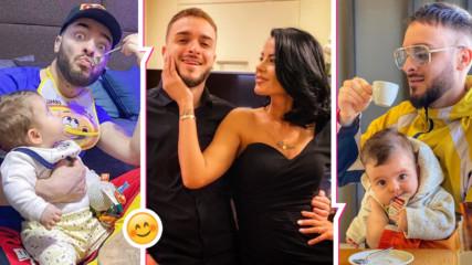 Бащинство в карантина: Сладки новини от Криско, дъщеря му с първа думичка и ново забавление