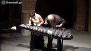 Божествена музика на Чайковски с чаши